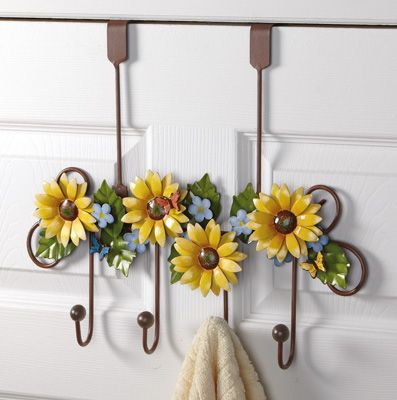 Marvelous LED Lighted Fall Floral Garland. Sunflower BathroomSunflower ...