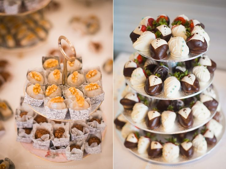 How about a Macaron or Cupcakes or Dessert tower instead of traditional wedding cake? ~Sydney wedding photography by Yulia Photography~ www.yuliaphotography.com.au