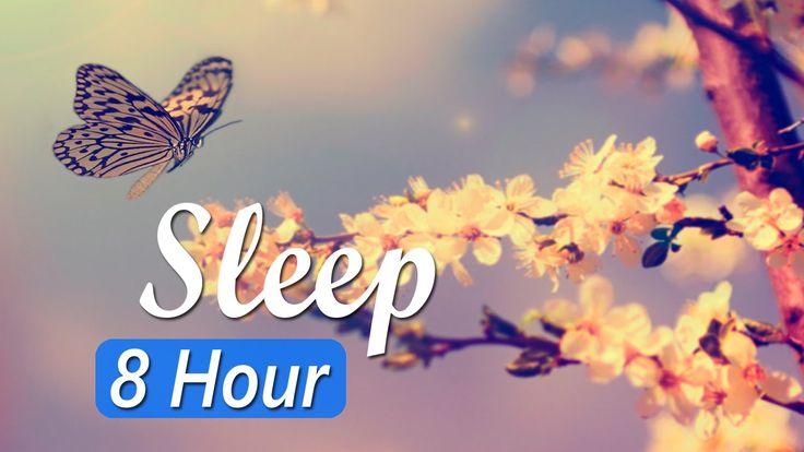 8 Hour Deep Sleep Music: Sleeping Music, Sleep Meditation, Relaxing Musi...