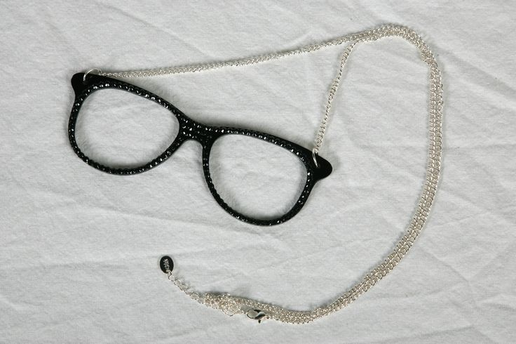 Necklace with glasses - $10.75 @Claire's Stores