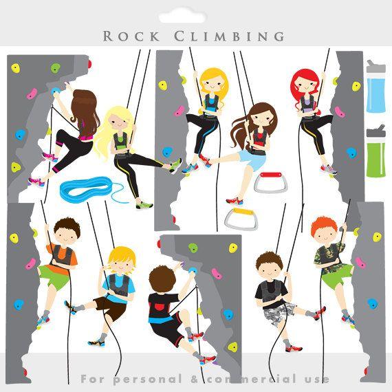 Rock Climbing Clipart Rock Climbing Clip Art Sport