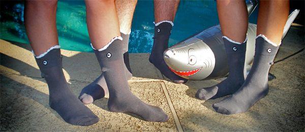 Ankle biters: Bites 3 Dimensions, 3 Dimen Socks, Lucky Socks, Sharks Bites, Ankle Biter, 3 Dimensions Socks, Bites Socks, Sharks Week, Shark Bites