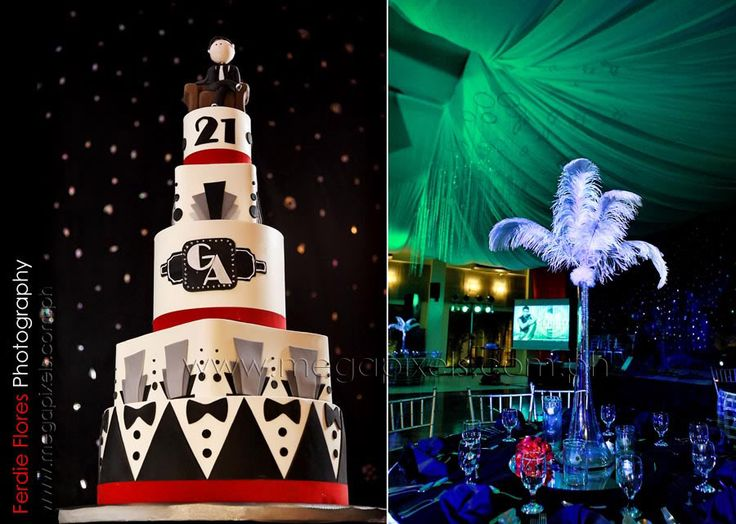 Mob Themed Wedding | Gerald Anderson's (21st Birthday) A ...