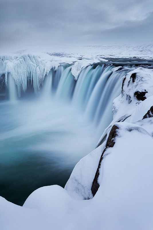 Godafoss, Iceland- Winter Season