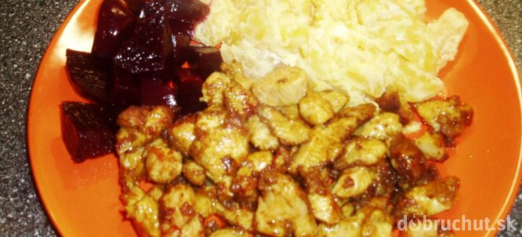 Čínske mäsko na panvici