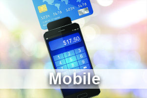 Mobile credit card machines and mobile payment processing lets you accept cards on the go from anywhere. High tech credit card terminals integrate with smartphones and tablets.