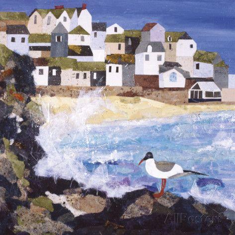 Cornish Coast Giclee Print by Anuk Naumann - AllPosters.co.uk