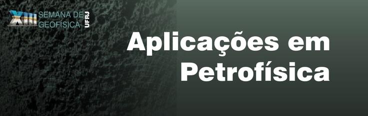 A GEOFISICA CONSULTORIA estará presente na XIII Semana de Geofísica da UFRJ - 21 a 23 de Novembro, 2012 - Rio de Janeiro, RJ, Brasil