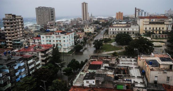 Κούβα: Εικόνες από πεδίο μάχης μετά το πέρασμα του τυφώνα Ίρμα (φωτό)