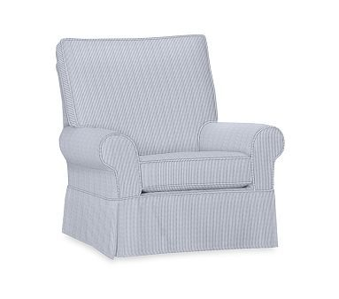 Pk Comfort Poly Bladwin Mini Stripe Grand Glider Navy