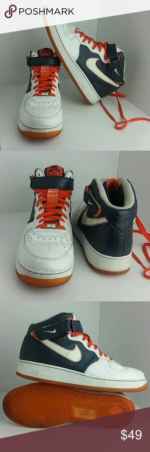 NIKE AIR FORCE 1 MID O7 MEN'S SHOES IN GOOD CONDITION   SKE # AB NIKE  Shoes Athletic Shoes