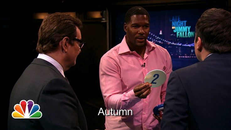 Michael Strahan and Demi Lovato play Catchphrase with Jimmy Fallon and Steve Higgins.