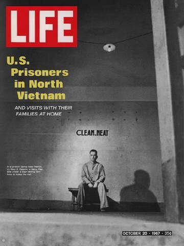 """American POWs ~ Life Magazine ~  October 20, 1967 issue ~ Click image or visit oldlifemagazines.com to purchase. Enter """"pinterest"""" at checkout for a 12% discount."""