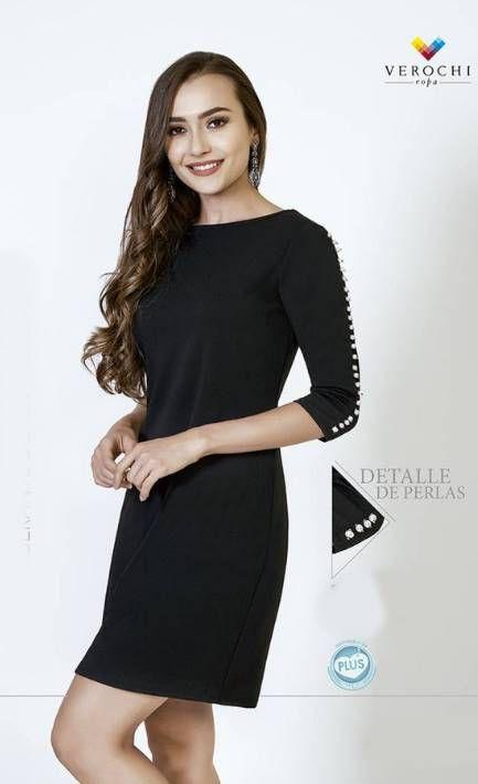 65203e7a5 Vestidos Verochi Otoño Invierno 2018