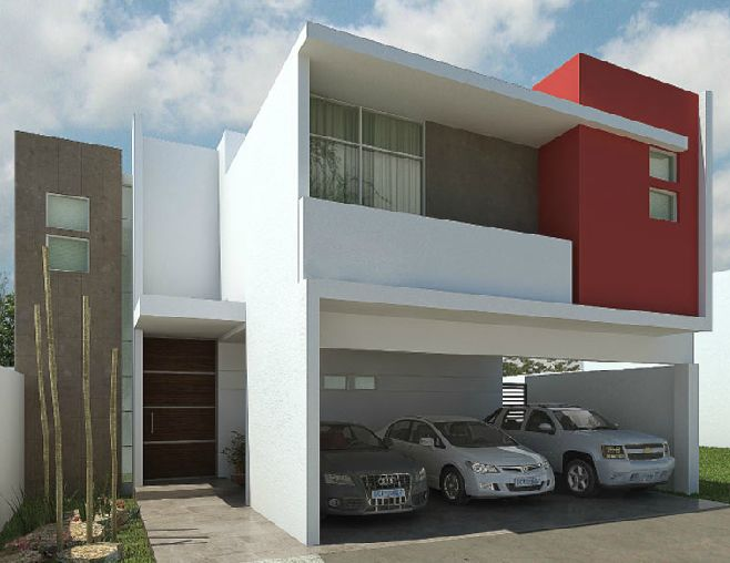 Home decore house fachada casa mexico - Casas contemporaneas ...