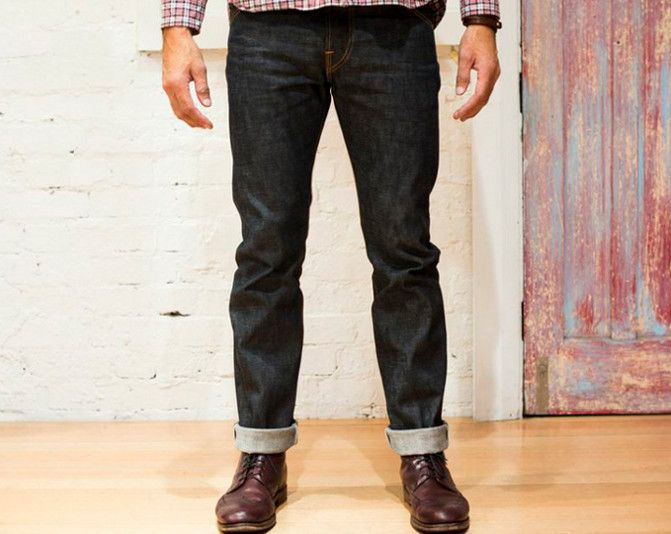 The Ande Whall Mustang Jean is perfect if you're after a flattering slim fit with a more comfortable rise. Made from 13.5oz Japanese raw selvage denim these crisp jeans will shape to your body and fade beautifully over time.