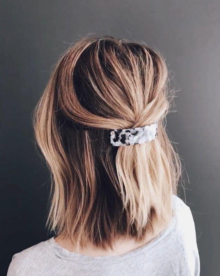 Tortoise Hair Clip In 2020 Hair Styles Blonde Bob Hairstyles Short Hair Styles