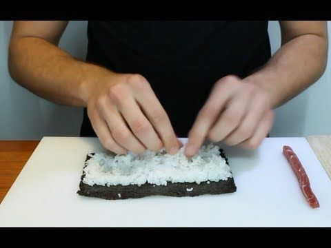 ▶ How To Make Simple And Delicious Sushi(1/2) - YouTube