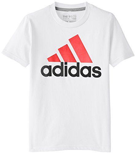 adidas Big Boys' Adi Logo Short Sleeve Tee, White/Scarlet, Small adidas http://www.amazon.com/dp/B00U0XO8IC/ref=cm_sw_r_pi_dp_CF.ewb12TFS08