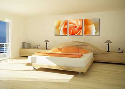 Canvas Wall Art Above Bed Home Pinterest