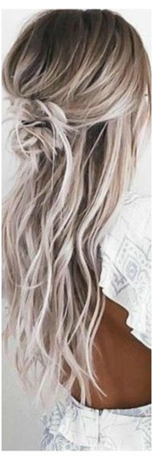 """Long Blonde Hair 