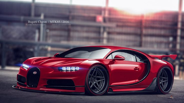 Bugatti Chiron by MTK85.deviantart.com on @DeviantArt | Virtual Tuning | Pinterest | Art, By and On