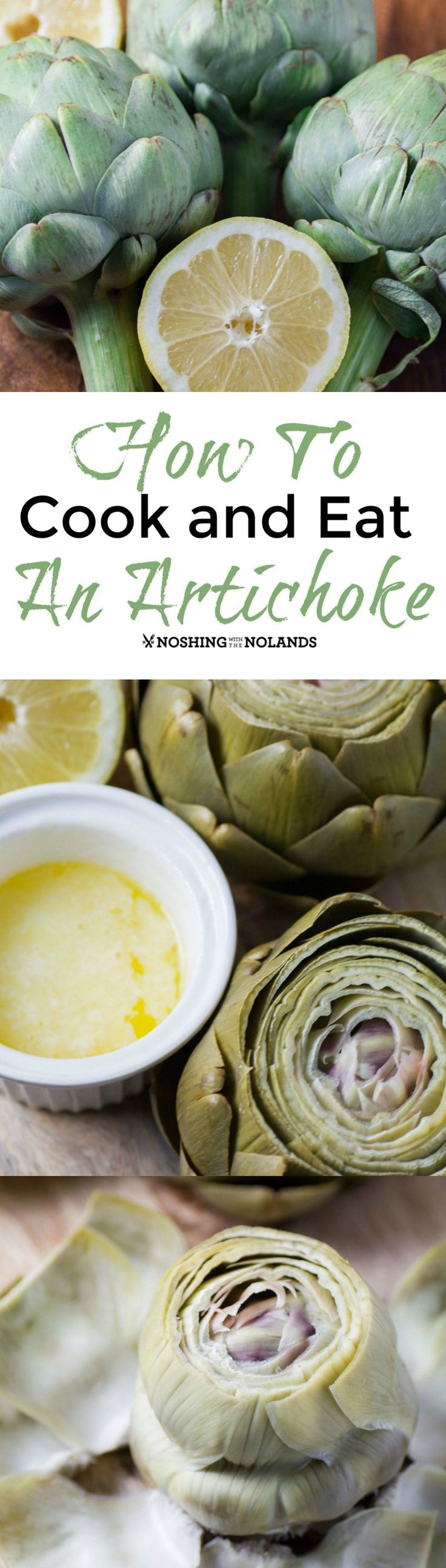 How To Cook and Eat An Artichoke by Noshing With The Nolands will help you to demystify this almost alien vegetable.