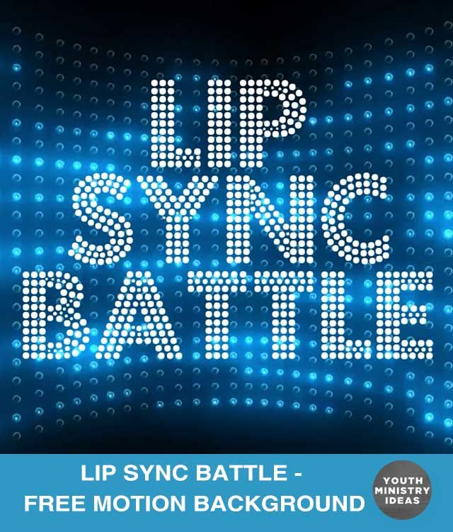 "Lip Sync Battles are a TON of fun. Have several students (or groups of students) work on a song in advance, then go head to head! I've created a motion background that you can play in the background while they're performing. (Actually, I didn't really MAKE the video, I just put the words ""Lip Sync Battle"" …"