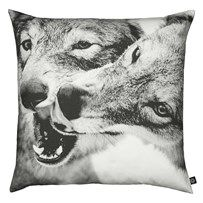 City North Cushion m. Playing Wolves - 80x80cm