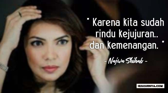 28 Kata Kata Bijak Dan Cerdas Najwa Shihab Untuk Generasi Milenial