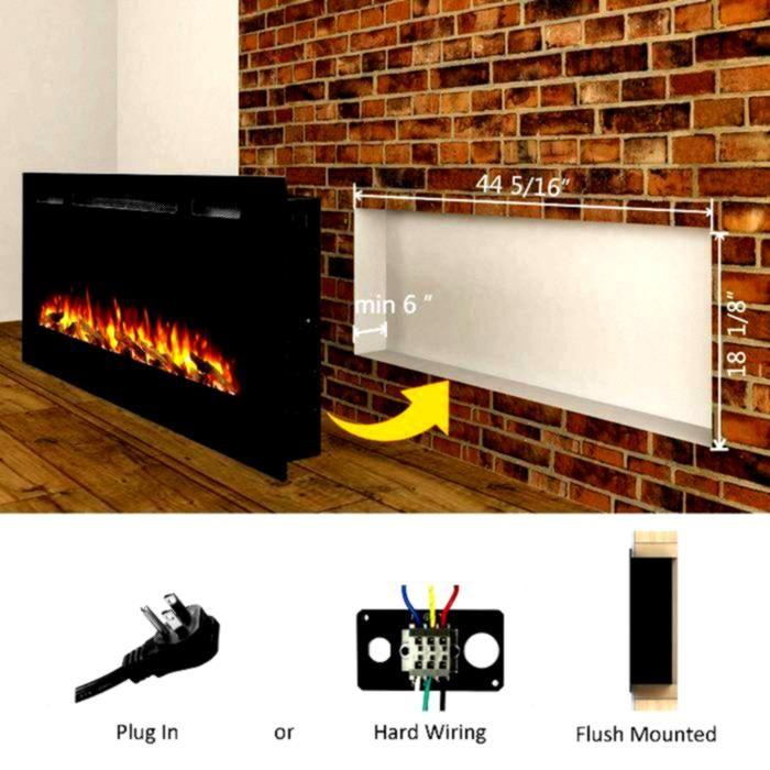 Fireplace Electric Concepts Iserman Mounted Reviews Wayfair