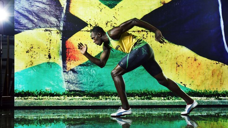 Wallpapers Usain Bolt Sprint Athletics Free Hd 1280x720