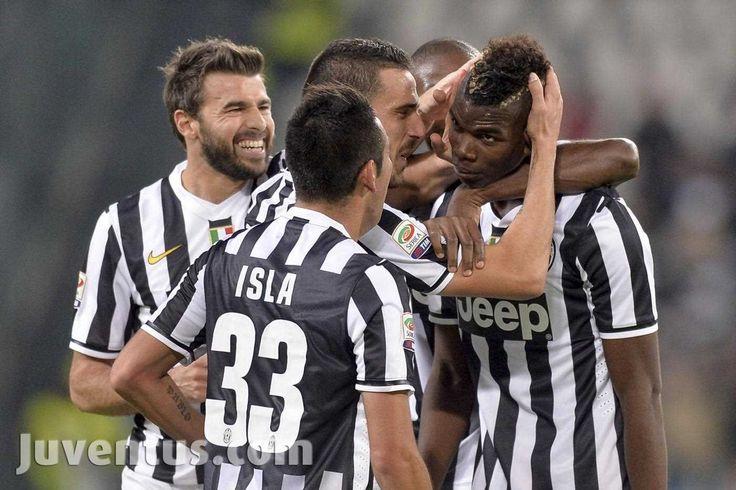Juventus vs Napoli - Serie A - esultanza Pogba