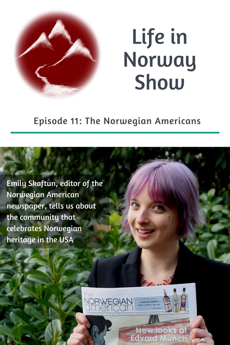 Meet the Norwegian Americans: Newspaper editor Emily Skaftun gives us the lowdown on Norwegian emigration to the USA and the modern-day community in America.