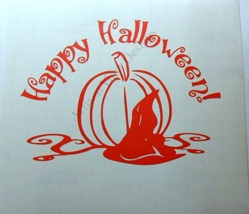 Best Vinyl Decals Images On Pinterest Vinyl Decals Glass - Halloween vinyl decals for glass blocks