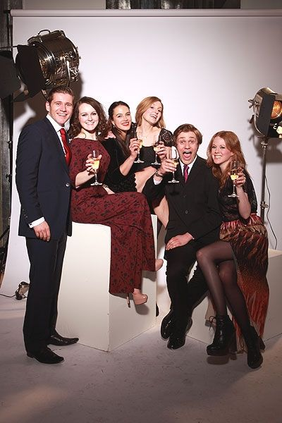Downton Abbey Cast - Allen Leech, Sophie McShera, Jessica Brown-Findlay, Laura Carmichael, Thomas Howes, Zoe Boyle