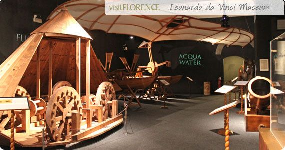 Leonardo D Exhibition : Leonardo da vinci museum machines by inspired