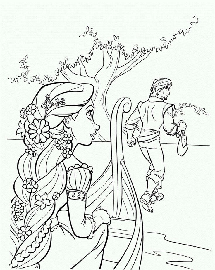 ausmalbilder rapuzel  tangled coloring pages coloring pages