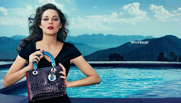Марион Котийяр для Кристиан Диор Christian Dior