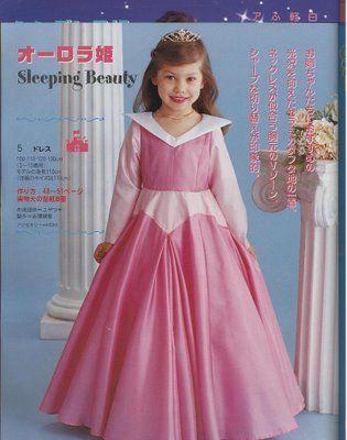 Disfraces de princesas disney con patrones ~ Todo Halloween
