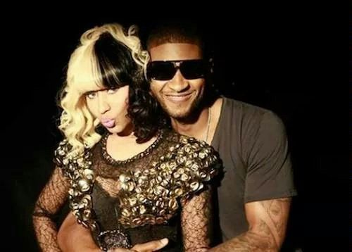 Nicky Minaj and Usher