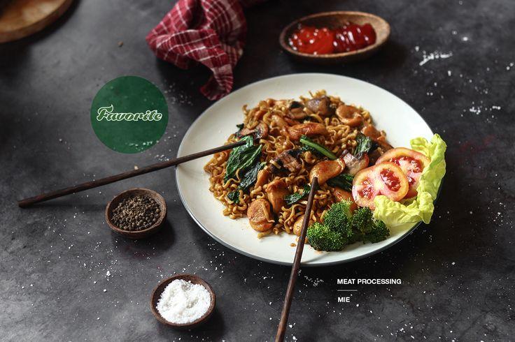 Favorite Noodle. Product by Favorite Meat Processing. Photo by Rio Dwisandy Studio.   https://www.instagram.com/riodwisandybrandingstudio/