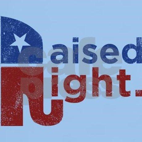 Raised Right T-Shirt | CafePress.com