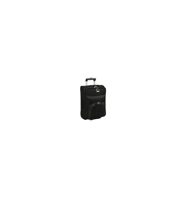 Billig og smart sort Travelite kabinekuffert 53 cm - Orlando