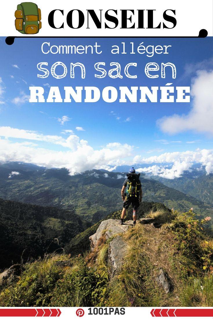 Comment réduire le poids de son sac en randonnée?   Blog outdoor 1001 pas  ARTICLE : http://www.1001-pas.fr/comment-reduire-poids-sac-randonnee/  #conseils #sac #randonnée #trek #trekking #outdoor #montagne