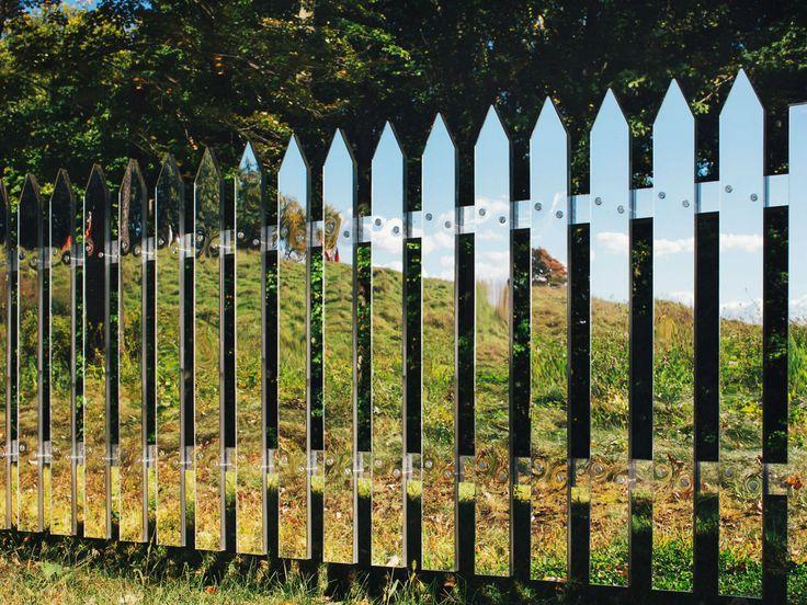 mirrors illusion fence alyson shotz