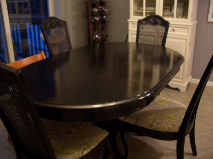 Painting Your Dining Room Table New House Pinterest