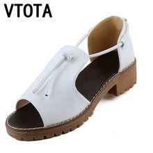 VTOTA Obuv ženy módne sandále Women Kliny Otvoriť Toe Platform Ženy Sandále mäkké Pohodlné dámske topánky tenis Feminine X420 (Čína (pevninská časť))