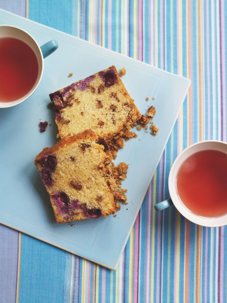 Hummingbird Bakery's Blueberry Crumble Loaf