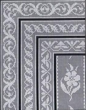 1900s Filet Crochet Cross Stitch Beadwork Patterns | Cora Kirchmaier | Meylah